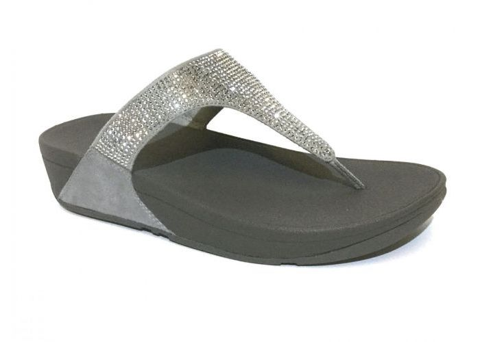 Fit Flop TEENSLIPPER Zilver
