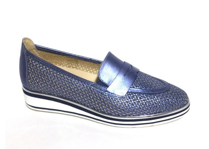 Softwaves MOCASSIN - LOAFER Blauw