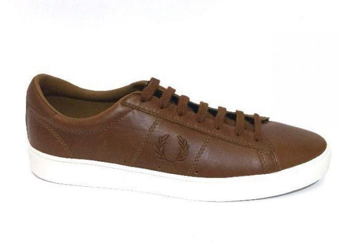Fred Perry VETERSCHOEN Cognac