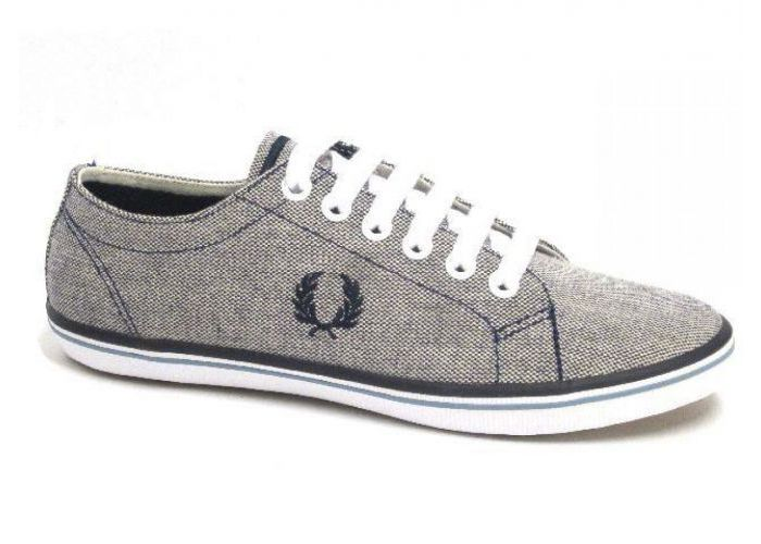 Fred Perry VETERSCHOEN Grijs