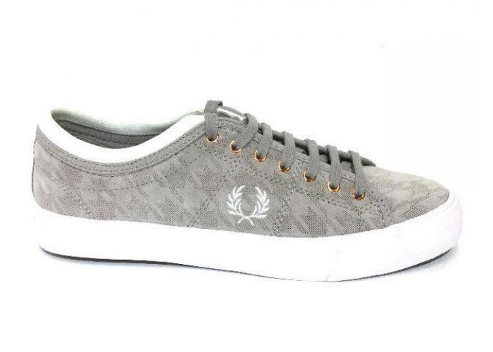 Fred Perry VETERSCHOEN Taupe