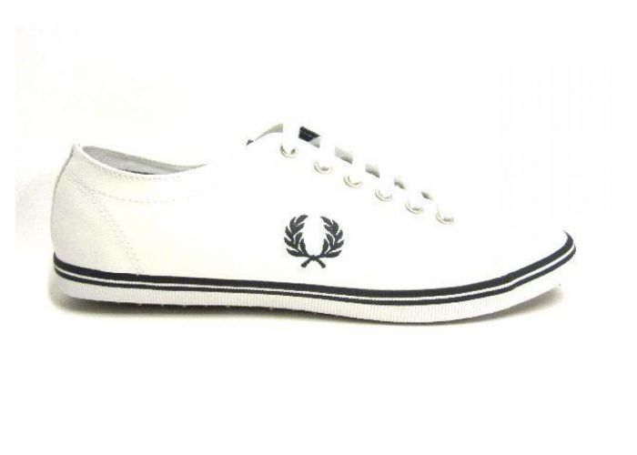 Fred Perry VETERSCHOEN Wit