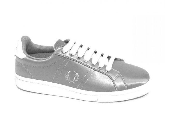 Fred Perry VETERSCHOEN Zilver