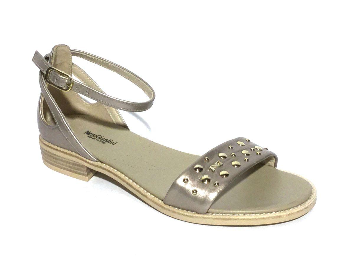 Nero Giardini sandaal brons damesschoenen | Schoenen Mayfair