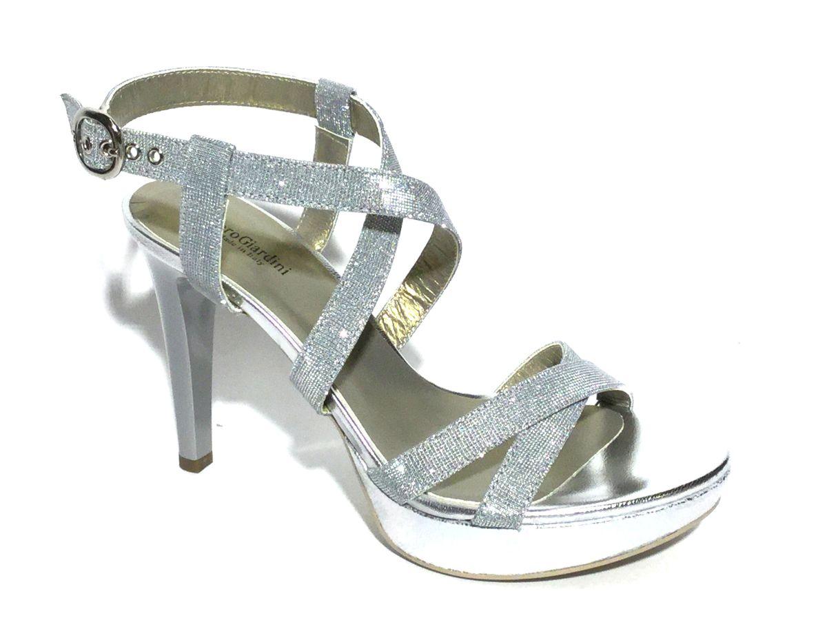 frisse stijlen beste deals voor promotie Nero Giardini sandaal zilver - damesschoenen | Schoenen Mayfair