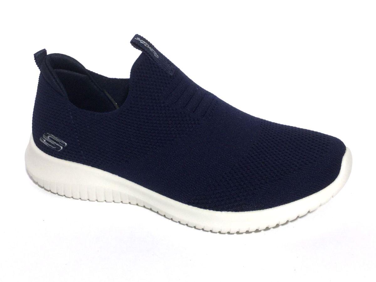 Skechers mocassin blauw damesschoenen | Schoenen Mayfair